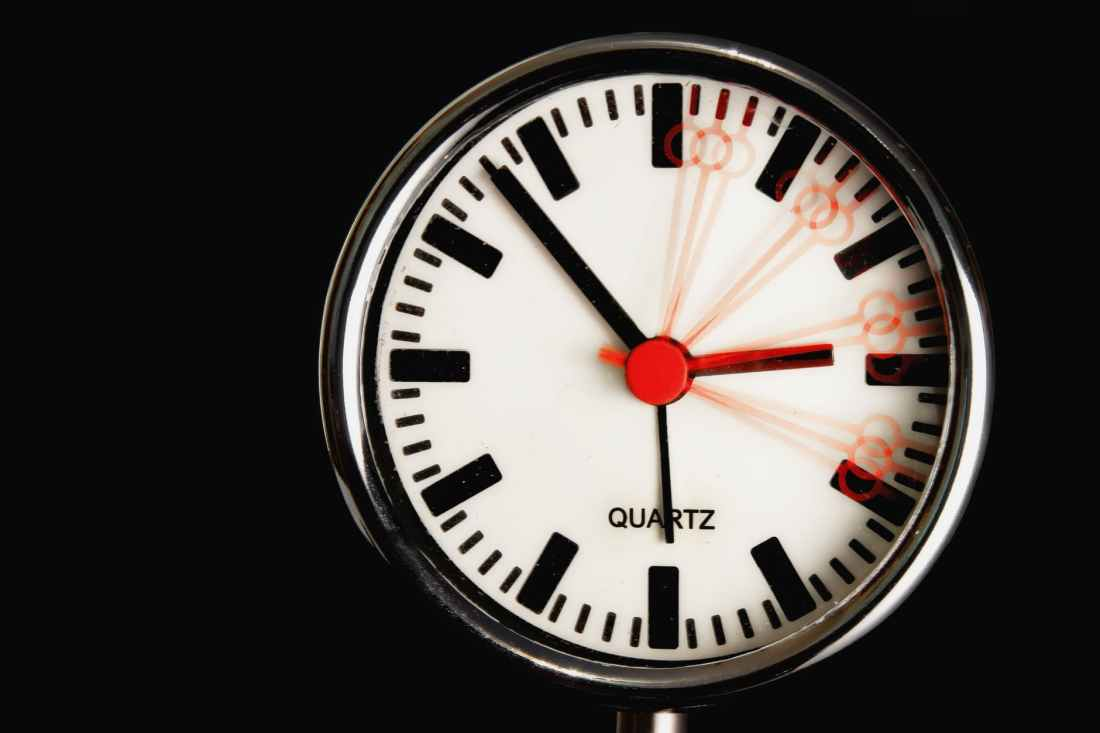 time motion round clock