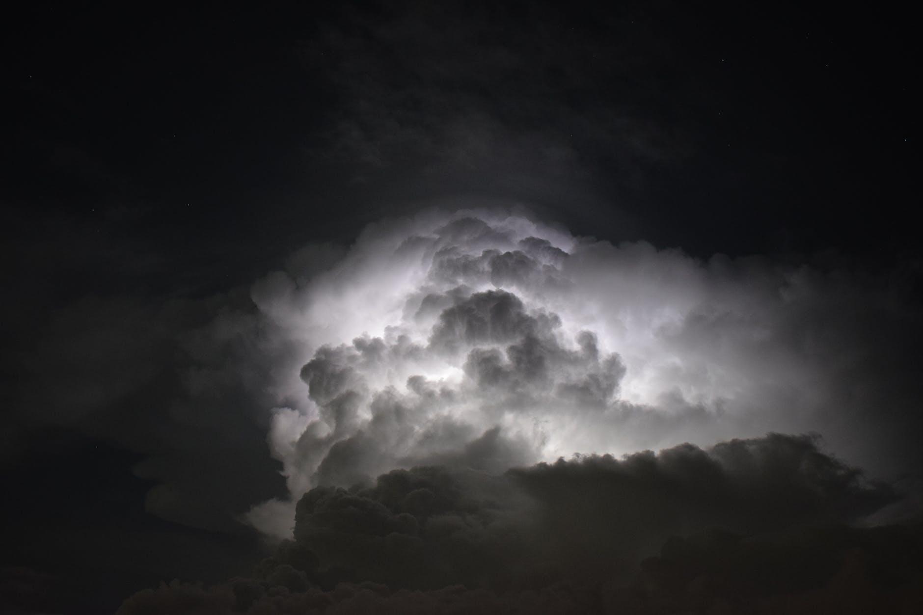 black and white clouds dark dark clouds
