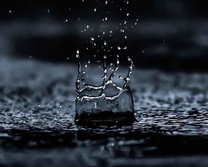 water droplet digital wallpaper