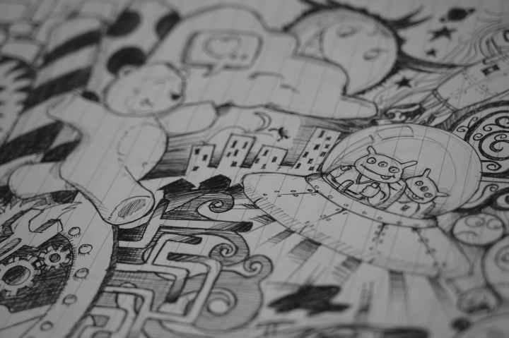 doodle comic art sketch